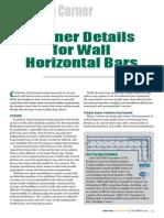 CI_detailing Corner_Corner Details for Wall Horizontal Bars