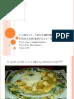 Cozinha Contemporânea e de Criação - Aula teórica 2 - Nouvelle Cuisine