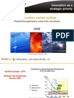 Innhotep - Panorama du marché photovoltaïque mondial - 2008