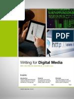 Writing for Digital Media, Fall 2012