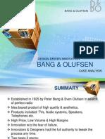 Big-sec a-grp 6-Session 5-Bang & Olufsen