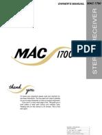 MAC1700 Owners