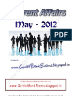 Current Affairs - May2012 - Guide4BankExams