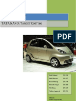 TATA Nano Target Costing