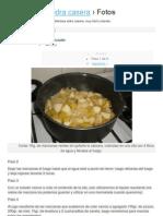 Cómo hacer sidra casera