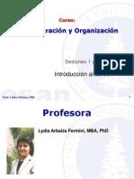 Administracion y Organizacion 01 - 02 Gerencia y Administracion