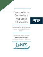 Compendio de Demandas y Propuestas Estudiantiles [Versión de Sociabilización]