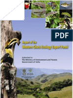 Tropical Mountains Western  Ghats  Ecology  Expert  Panel  [WGEEP Report Part I-2 ], Kerla, India EIA