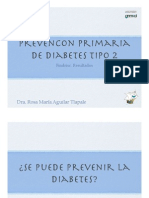 Prevención primaria de la diabetes