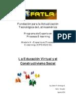 La Educación Virtual y el Constructivismo Socia1 - TESIS