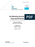 AMA PR Summit Report2012