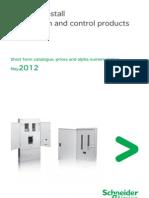 Schneider Price List 2012