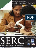 2012-13 SERC Professional Development Catalog