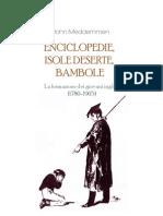 John Meddemmen - Enciclopedie, Isole Deserte, Bambole. La Formazione Dei Giovani Inglesi (1780-1905)