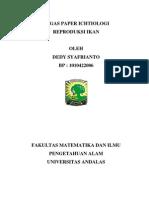 Tugas Paper Ichtiologi Dedy
