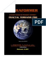 Terraformer Users Manual