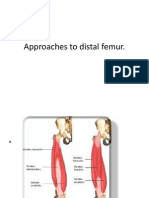 Approaches to Distal Femur