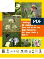 Catalogo Flora Apicola