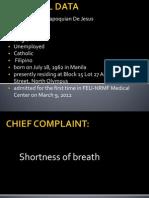 CPC Pleural Effusion