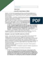 Cours-TD - Droit des Sociétés - TD n° 9 - Responsabilité civile