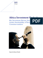 Africa Investment Outlook 2012