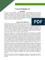 Carta de Principios - 1.0