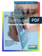 2012 April MCPS Purchasing Card Guide