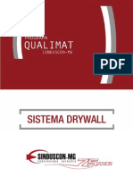 Cartilha Qualimat Sistema Drywall