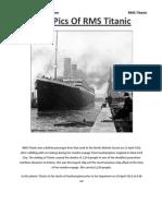Titanic's Rare Pics