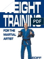 44567454 Weight Training for the Martial Artist Geoff Thompson