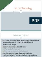 Art of Debating 09