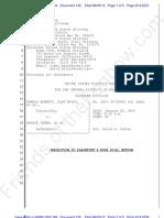 2012-08-20 - CA - Barnett|KEYES v Obama -  Defendants' Opposition to Rule 60B Motion