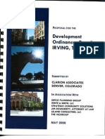 Irving Clarion Conflict Disclosure