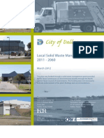 Dallas Solid Waste 50-Year Plan