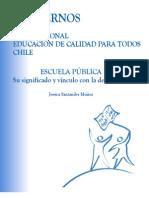 Cuadernos Del Foro - Escuela Publica Significado y Vinculo Con La Democracia