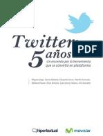 Twitter. 5 años - Movistar (2011)