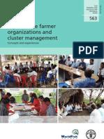 Aquaculture farmer organização e governança de clusters...