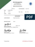 Chavis Davis Autopsy Report