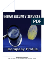 Business Profile - Indian Security Services