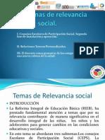 Tema 5 de Relevancia Social