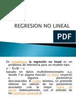 Regresion No Lineal