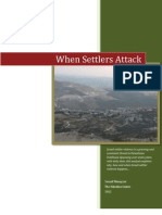 When Settlers Attack