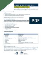 Tiroides Guideline