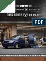 2012 Ram Cargo Van User Guide