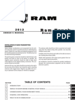 2012 Ram Diesel Supplement 4th