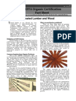 Treated Lumber and Wood - Ohio Ecological Food and Farm Association