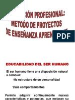 Diapositivas Metodo de Proyectos 2012