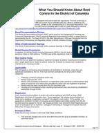 Rent Control Fact Sheet