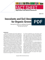 Inoculants and Soil Amendments for Organic Growers