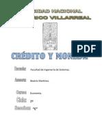 Credito y Moneda_economia